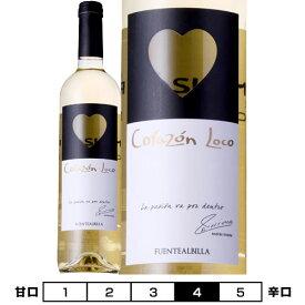 イニエスタ コラソン・ロコ ブランコ[2017]ボデガ・イニエスタ 白 750ml Bodega Iniesta[Iniesta Corazon Loco Blanco] スペイン 白ワイン