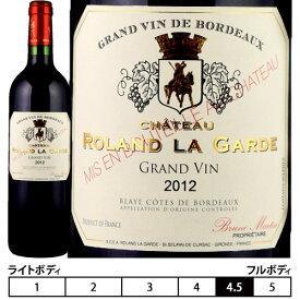 """シャトー・ローラン・ラ・ギャルド """"グラン ヴァン""""[2014]ボルドー 赤 750ml[Chateau Roland La Garde""""Grand Vin"""" ] フランス ボルドー 赤ワイン"""