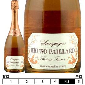 ブルーノ・パイヤール・ブリュット・ロゼ・プルミエール・キュヴェ[ブルーノ・パイヤール]発泡 ロゼ 750ml Bruno Paillard[Bruno Paillard Brut Rose Premiere Cuvee]※箱はついておりません。 フランス シャンパン スパークリングワイン Champagne