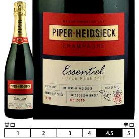 パイパー・エドシック[N/V]エッセンシエル エクストラ ブリュット 箱入「新ラベル」 泡・白 750ml Essentiel Extra Brut in Box New Package[PIPER-HEIDSIECK] フランス シャンパン スパークリングワイン Champagne