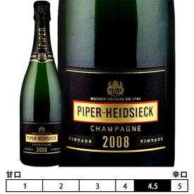 シャンパーニュ パイパー・エドシック[2008]ブリュット ヴィンテージ 泡・白 750ml PIPER-HEIDSIECK [Brut Vintage]※安心の正規代理店輸入品※ フランス シャンパン スパークリングワイン Champagne