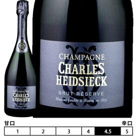 【正規】シャルル・エドシック[N/V]ブリュット レゼルヴ 箱入 シャンパン/シャンパーニュ 750ml Brut Reserve[Charles Heidsieck] フランス シャンパン スパークリングワイン Champagne