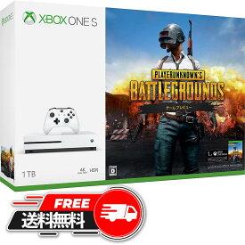 Xbox One S 1TB(PLAYERUNKNOWN'S BATTLEGROUNDS同梱版・)/XBO/234-00316/D 17才以上対象