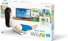 【送料無料】 Wii Fit U バランスWiiボード(シロ)+フィットメーターセット/Wii U/WUPRASTJ/A 全年齢対象 テレワーク 自宅 家 フィットネス 運動 ゲーム