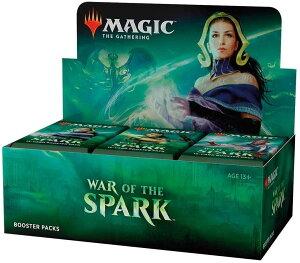 ウィザーズ・オブ・ザ・コースト(Wizards Of The Coast) MTG マジック:ザ・ギャザリング 灯争大戦 ブースターパック(War of the Spark Booster Box) 英語版 36パック入り (BOX)