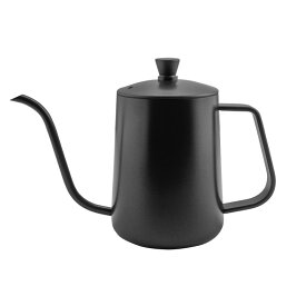 コーヒードリップポット 350ml ステンレス 細口 ポット コーヒーポット 約1-2杯分 おしゃれ オシャレ シンプル 引越し祝い ギフト コーヒー グッズ ケトル ステンレスケトル コーヒーケトル コーヒー器具 ブラック