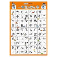KUMONくもん紙製学習ポスター一年生のかん字GP-512歳以上