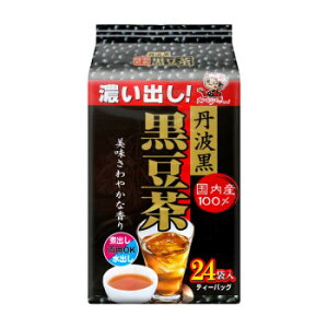 宇治森徳 丹波黒 黒豆茶 ティーバッグ (6g×24P)×12袋