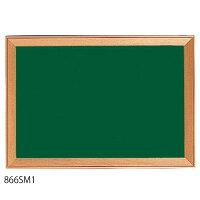 馬印額縁風木枠ボード黒板W494×H346866SM1