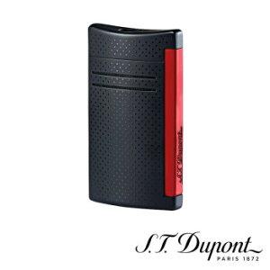 S.T. Dupont エス・テー・デュポン ライター マキシジェット マットブラック&レッド 020160N≪020160N≫