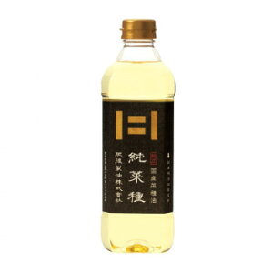 肥後製油 国産純正菜種サラダ油 純菜種 600g