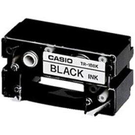 (業務用7セット)カシオ CASIO CR-Rプリンターリボン TR-18BK 黒