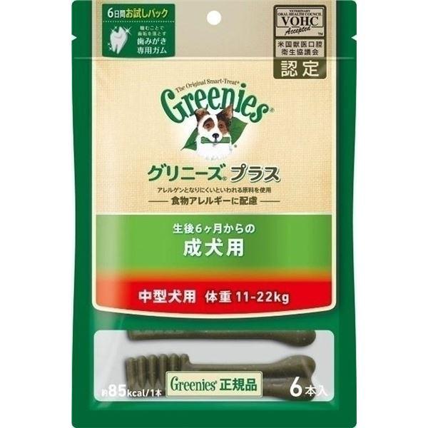 ニュートロジャパン グリニーズP成犬中型11-22kg 6P 【ペット用品】