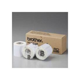(まとめ) ブラザー BROTHER RDロール プレカット紙ラベル(PDラベルA) ラベルサイズ50mm×85mm 123枚 RD-M11J1 1セット(3ロール) 【×2セット】