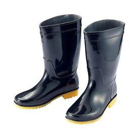 (まとめ) アイトス 衛生長靴 25.0cm ブラック AZ-4438-25.0 1足 【×10セット】