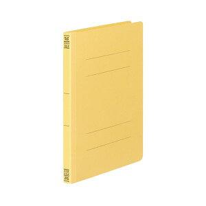(まとめ) コクヨ フラットファイルV(樹脂製とじ具) B5タテ 150枚収容 背幅18mm 黄 フ-V11Y 1パック(10冊) 【×5セット】〔沖縄離島発送不可〕