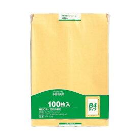 (まとめ) マルアイ 事務用封筒 PK-108 角0 100枚【×5セット】