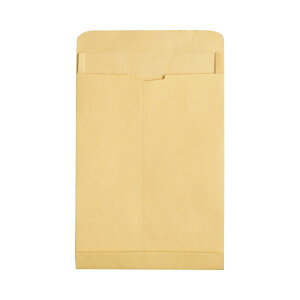 (まとめ) TANOSEE マチ付クラフト大型封筒 角0 120g/m2 1パック(50枚) 【×5セット】