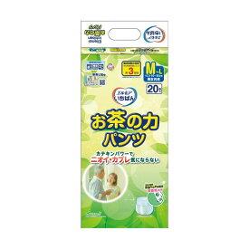 (まとめ)カミ商事 エルモア いちばんお茶の力パンツ M-L 1パック(20枚)【×5セット】