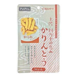 (まとめ)ペットプロ 土佐・四万十の恵み かりんとう かつお 40g【×10セット】