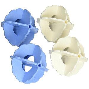 (まとめ) NEWザブザブボール/洗濯ボール 【4個入り】 洗濯用品 【×20個セット】