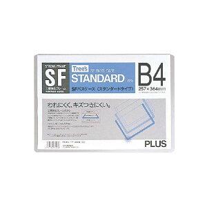 (まとめ)プラス SFカードケース PC-014 B4 クリア【×50セット】