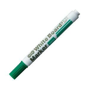(まとめ) TANOSEE ホワイトボードマーカー 中字角芯 緑 1本 【×300セット】〔沖縄離島発送不可〕