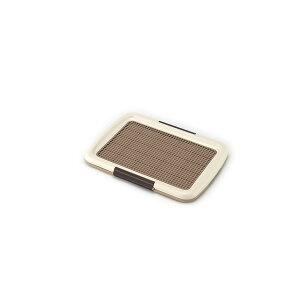 (まとめ)しつけるトレーメッシュプラスS アイボリー (ペット用品) (×2セット)
