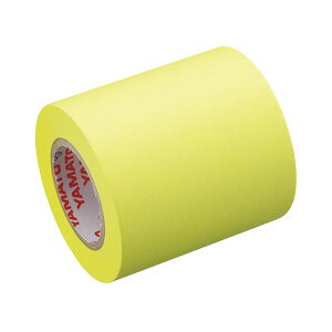 (まとめ) ヤマト メモック ロールテープ 蛍光紙詰替用 50mm幅 レモン RK-50H-LE 1巻 【×50セット】
