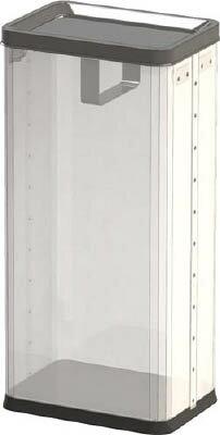 [ブンブク]ブンブク 中身ノ見エルゴミ箱 角型ロータリー屑入レ RSMP01[環境安全用品 清掃用品 ゴミ箱 (株)ぶんぶく]【TC】【TN】