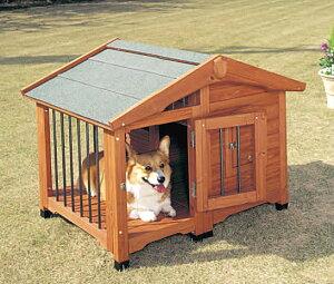 【送料無料】【犬小屋 中型犬用】サークル犬舎 CL-990【犬小屋 中型犬用 アイリスオーヤマ ペット 屋外ハウス ハウス サークル 天然木製】