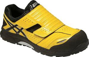 【アシックス】アシックス ウィンジョブCP101 イエローXブラック 25.5cm FCP101.049025.5[アシックス 靴環境安全用品安全靴・作業靴プロテクティブスニーカー]【TN】【TC】