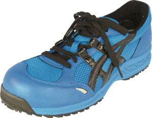 【アシックス】アシックス ウィンジョブ33L ブルーXブラック 23.5cm FIS33L.429023.5[アシックス 作業靴環境安全用品安全靴・作業靴プロテクティブスニーカー]【TN】【TC】