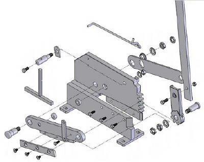 【TRUSCO】TRUSCO P−4用六角ナットNO.10 P4010[TRUSCO 鈑金機器作業用品ハサミ・カッター・板金用工具板金用工具]【TN】【TC】