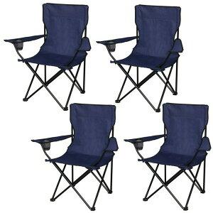 【4脚セット】レジャーチェア 折りたたみチェア 折りたたみ チェア イス 椅子 アウトドアチェア 折り畳みチェア アウトドア バーベキュー キャンプ用品 キャンプ ピクニック フリーマーケ