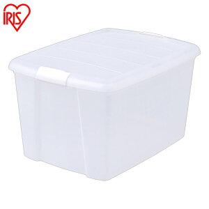 収納ボックス クローゼット 収納 クローゼットボックス MCB-MD クリアケース 押入れ収納 クローゼット収納 クリア収納 クリアボックス 収納ケース 収納ボックス 衣装ケース フタ付き アイリ