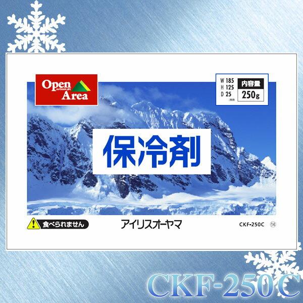 保冷剤ソフトタイプ CKF-250C【アイリスオーヤマ】【保冷剤 保冷材 長時間 クーラーボックス クーラー】