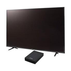 テレビ Fiona 65v 外付けHDDセット品送料無料 テレビ HDD セット TV 4K 65v 65型 外付け ハードディスク アイリスオーヤマ