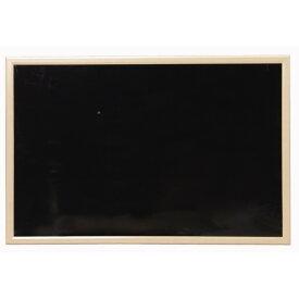 ウッドブラックボード NBM-69 幅90×高さ60cm 送料無料 アイリスオーヤマ 黒板 無地 ウッドボード メニューボード カフェボード ウェルカムボード カフェ お店 マグネット対応 磁石 壁掛け 家庭用 ミニサイズ 子供 900×600 90×60一人暮らし