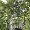 G-Story オベリスクスリム GSTR-RC15 ブラック【D】【バラ、クレマチスなどのつる性植物に!庭園 ガーデニング アプロ…