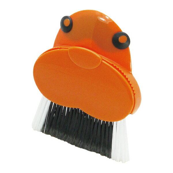 アニマルハウス ダストパン&ブラシ セイウチ K249【キッチン ほうき ちりとり 掃除 掃除グッズ 掃除道具】【D】【gh】