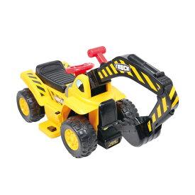 乗用ショベルカー 608BM送料無料 おもちゃ 玩具 乗り物 子供用 キッズ用 男の子 女の子 働く車 車 充電 電動 SIS 【D】