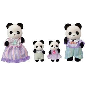 シルバニアファミリー パンダファミリー FS-39シルバニアファミリー セット 人形 おもちゃ 子供 エポック社 【TC】