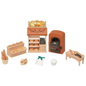 シルバニアファミリー こんがりオーブン!はじめてのパン屋さんセット ミ-88シルバニアファミリー セット お店屋さん 小物 家具 おもちゃ 子供 エポック社 【TC】