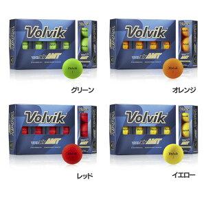 エントリーでポイント6倍!VOLVIK VIVID XT AMT dz 送料無料 ゴルフ ゴルフボール ボール ボルビック 1ダース ウレタンカバー 飛距離 ゴルフ用品 ヴィヴィット カラー Volvik グリーン オレンジ レッ