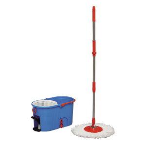 回転モップ アイリスオーヤマ KMO-540S モップ 水拭き モップ付き 回転 業務用 モップクリーナー モップ絞り器 モップ絞り フローリング モップ 清掃 床 回転モップ 掃除 雑巾 床掃除 玄関 畳