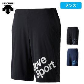 【ポイント5倍】(8/10迄) デサント Move Sport メンズ ハーフパンツ 吸汗 速乾 MOTION FREE FIT 2021 春夏 NEW 新作 DMMQJD83