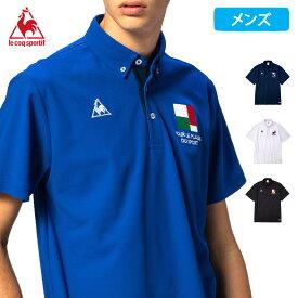 ルコック 半袖 ポロシャツ メンズ 2020 春夏 NEW 新作 襟付き 半袖シャツ ポロ クーリスト QMMPJA47