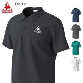 ルコック メンズ 半袖 ポロシャツ ドライ 速乾 吸汗 無地 ワンポイント シンプル ポロ 2021 春夏 NEW 新作 QM71Z