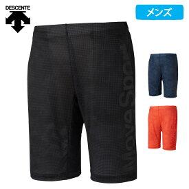【ポイント5倍】(8/10迄) デサント Move Sport メンズ ハーフパンツ 吸汗 速乾 グラフィック 2021 春夏 NEW 新作 DMMRJD84
